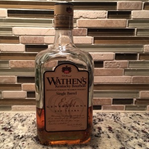 Wathen's is a very popular everyday bourbon. It's affordable, it's highly drinkable and it's not hard to find.